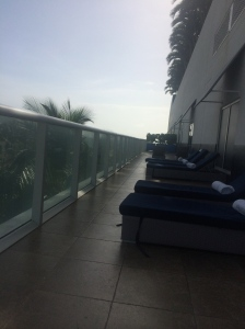 Private Deck at Bliss Spa W. Ft. Lauderdale