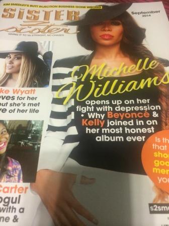 Sister 2 Sister Magazine September 2014 Cover